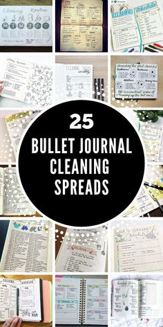 If you struggle to keep your home clean and tidy you're going to love today's Bullet Journal cleaning schedules. Pick out the spread that you love the most and stay on top of the chores once and for all! Bullet Journal Cleaning Schedule, Bullet Journal Tracker, Cleaning Schedules, Bullet Journal Hacks, Best Planners, Mood Tracker, Planner Organization, Cover Pages, Printable Planner