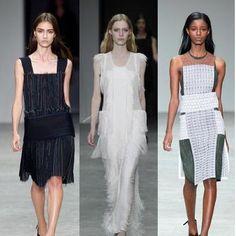 Calvin Klein Runway Fashion for Spring 2014: Calvin Klein Runway Fashion for Spring 2014 -- 1920s-Inspired Fashion