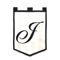 The Monogram Garden Flag has the initial on both sides of the flag. These Monogrammed Garden Flags are durable, elegant and a great addition to your decor. Monogram Garden Flags are made of weatherpro