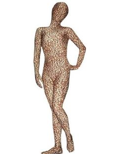 Disguise yourself in a leopard pattern with JustinCostume Leopard Printed bodysuit. It is a zentai costume that will cover your entire body with just a one-piece bodysuit. It is made from high quality Lycra spandex material, resulting in a stretchy fit feeling when you wear it.  http://zentaix.com/justincostume-leopard-printed-lycra-spandex-zentai-bodysuit-costume/