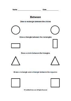 0cb29d941b7 Between Positional Words Worksheet Kindergarten Worksheets