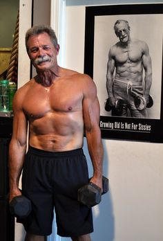 Growing old is for sissies.  Fitness can happen at any age