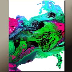 Abstract+Art+Print++11x14+Matted+Contemporary+Modern+by+wostudios,+$20.00