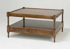 2778 RECT COFFEE TABLE WITH FOUR DRAWERS   Bausman & Company