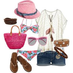 Summer love <3, created by qkilla on Polyvore