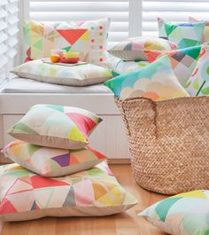 Cushion & textile design, the Dan300 Group #throwpillow #summer #galloplifestyle