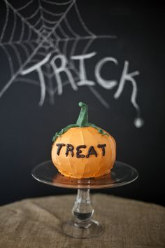 Pumpkin Cake – For Halloween