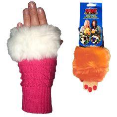 Fuzzy Fan Spirit Gloves