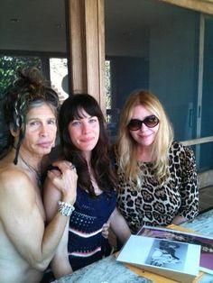 Bebe Buell, Liv Tyler 90s, Steven Tyler Aerosmith, Vanessa Bryant, Edgy Makeup, Joe Perry, All In The Family, Love Me Forever, New York