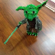 Use the force! Wow this Yoda was drawn using the #3Doodler pen #StarWars #Yoda http://www.maplin.co.uk/3doodler