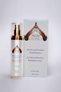 Zen Secrets Premium Facial Cleanser with box by New Radiance www.newskinradiance.com