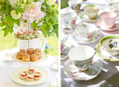 A summer afternoon tea