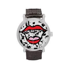 Happy lips watch