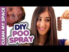 DIY Poo Spray! (Clean My Space) - YouTube