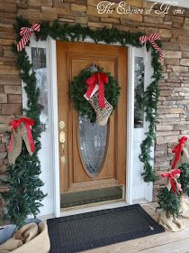 The Essence of Home: Outside Christmas Decorations