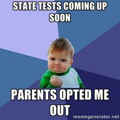 Opt out success kid