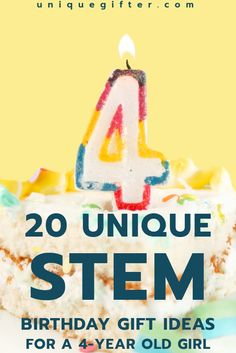 Fantastic STEM Birthday Gift Ideas for a 4-year old girl | Science gifts | Engineering toys | Empowering Gifts | Child gift ideas | Mad scientists | Gifts for Kids | 4th Birthday | Preschool Gift Ideas