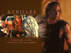 Brad Pitt - Achilles - troy Wallpaper