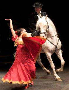 Juana y caballo