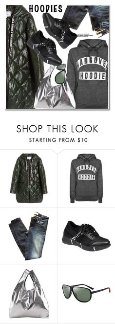"""""""In My Hood: Cozy Hoodies"""" by paculi ❤ liked on Polyvore featuring Marc by Marc Jacobs, MM6 Maison Margiela, casual, sporty and Hoodies"""