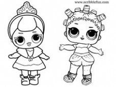 Color Yourself Lol Surprise Doll Posh By Solomom Lol Dolls Baby Coloring Pages Coloring Pages