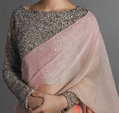 Looking for designer blouse patterns for sarees? Here are 15 most flattering models that will go well with any saree. Do try them and look chic. Blouse Back Neck Designs, Silk Saree Blouse Designs, Choli Designs, Sleeve Designs, Designer Saree Blouses, Designer Blouse Patterns, Dress Patterns, Saree Jackets, Trendy Sarees