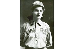 #DidYouKnow that the first paid female umpire was Amanda Clement (1888-1971)? She got the job by accident in 1904, when her brother's semi-pro team needed a last minute umpire and she did so well that they hired her.