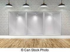 Resultado de imagen para dibujo de ESCAPARATE VACIO Track Lighting, Ceiling Lights, Kitchen, Home Decor, Houses, Shop Displays, Dibujo, Cuisine, Kitchens