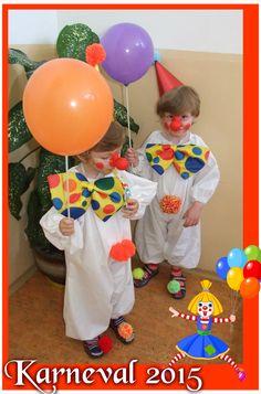 Náš první karneval (kostým od mamči) - Our 1. carnival (costume by our mummy) - Vojta a Lukáš
