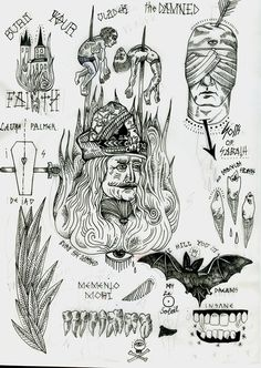 Ideas tattoo traditional flash sketches behance for 2019 Russian Prison Tattoos, Russian Tattoo, Tattoo Flash Sheet, Tattoo Flash Art, Trendy Tattoos, Black Tattoos, Vlad Der Pfähler, Tattoo Drawings, Print Tattoos