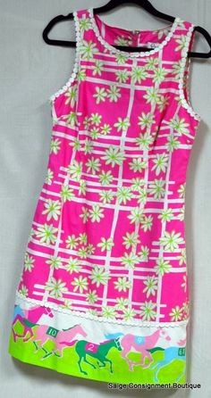 I must have this dress...On the hunt! LILLY PULITZER Saige Consignment Boutique…
