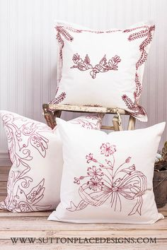 Sutton Place Designs | Handmade Textile Furnishings for your Home
