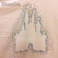 Disney Side Polka Dot T-Shirt Tutorial