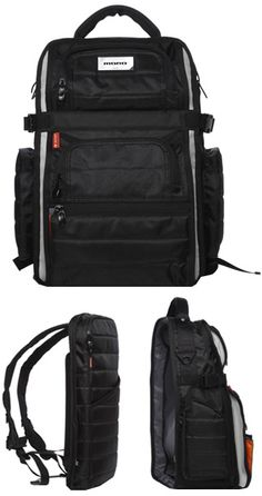 The FlyBy Bag by Mono - The breakaway laptop bag is an awesome feature | $189.99 at Tunrtable Lab - www.turntablelab.com/clothing/314/70/86335.html -