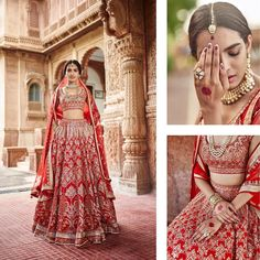 """634 Likes, 4 Comments - Shaadiwish (@shaadiwish) on Instagram: """"New Blog Alert: Anita Dongre's winter 2017 bridal couture collection is out and we are in love!…"""""""