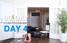 BIKINI BODY MOMMY CHALLENGE: WORKOUT DAY 4