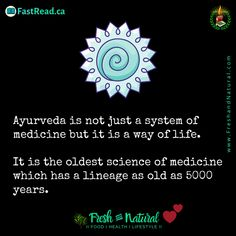 Ayurveda- the oldest science of health and healing. It is from the ancient Vedic India. Health Heal, Breathing Techniques, Medical Science, Thought Process, Tantra, Alternative Medicine, Healthy Mind, Pediatrics, Ayurveda