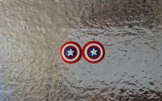 Marvel's Captain America Shield Earrings Avengers