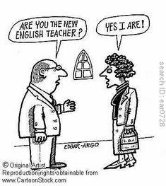 Das kann ja ein spannender Englischunterricht werden ;-)