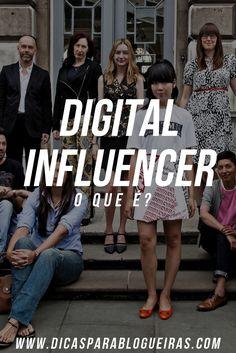 Você conhece a nova profissão do pedaço? Digital Influencer! Venha conhecer e quem sabe se incentivar a trabalhar na internet gerando conteúdo e autoridade!