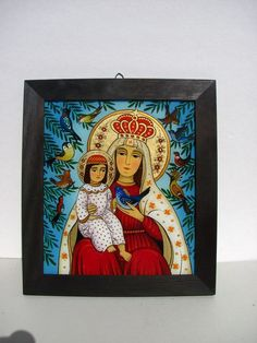 Orthodox Icons, Sacred Art, Christmas Images, Madonna, Journals, Contemporary Art, Folk, Religion, Angels