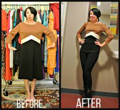 As I've mentioned before, I have far more dresses than I do separates. This becomes a problem when I have a hankering to wear pants, but don't want to look like a toddler by wearing a d… Source by dmdahn clothing Thrift Store Refashion, Thrift Store Outfits, Thrift Stores, Upcycled Clothing Thrift Store, Recycled Clothing, Costura Diy, Diy Kleidung, Do It Yourself Fashion, Recycled Fashion