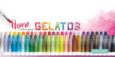 Nothing on the market today compares with Design Memory Craft Gelatos®.  Compact acid-free pigment sticks glide on creamy smooth for vibrant color and coverage.  All Gelatos® blend easily with or without water.  Try this unique medium on paper, canvas, or wood!