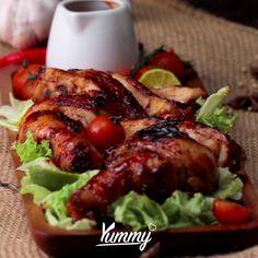 Duck Recipes, Indian Food Recipes, Asian Recipes, Vegetarian Recipes, Cooking Recipes, Chicken Menu, Chicken Recipes, Malaysian Food, Indonesian Food