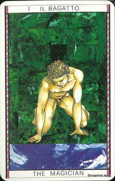 I. The Magician - Tarocco Mitologico by Amerigo Folchi
