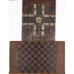 19th C Game boards