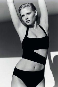 Lara Stone for Vogue UK