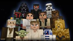 Bring the Force to Minecraft! Star Wars Skin Packs for Xbox One & Xbox 360. 55 Skins for $2.99
