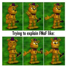 It's true... but FNaF is the best horror game I ever played.