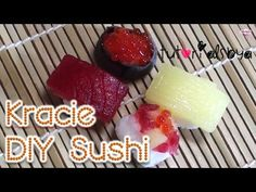 cool Sushi Kracie DIY Japanese Candy Kit Tutorial | Chef A Check more at http://rainbowloomsale.com/sushi-kracie-diy-japanese-candy-kit-tutorial-chef-a/